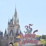 35周年おめでとうございます!! 東京ディズニーランド!!