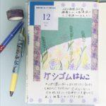 🌷草花が空へまっすぐ伸びる日